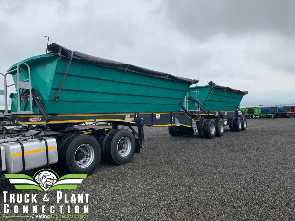 1331 2017 Sa Truck Bodies Side Tipper Truck And Plant Connection
